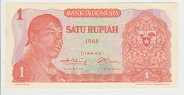 Indonesia 1 Rupian 1968 Pick 102 UNC - Indonesia