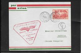 GUINEA Francese 1940- Ffc Kankan To Dabola ( Ref.462) - French Guinea (1892-1944)