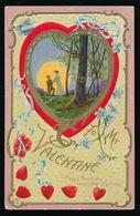 TO MY VALENTINE   RELIEF  GAUFREE - Saint-Valentin