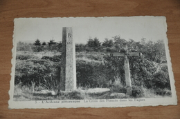6863- L'ARDENNE PITTORESQUE, LA CROIX DES FIANCES DANS LES FAGNES - Jalhay