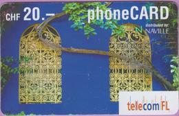 Télécarte Suisse °° Prépayée - FL CHF.20 - Ornement Fenêtres - 7721-RV. - Suiza