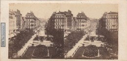 Photos - Stéréoscopiques : LYON - Rhone : ( Rue Impériale ) N° 61 - Photos Stéréoscopiques