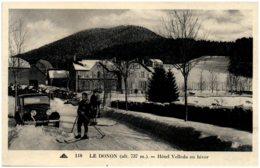 88 LE DONON - Hotel Velleda En Hiver - France