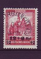 Dt. Reich 464 Dt. Nothilfe Bauwerke (III) 12+3 Pf Gestempelt /2 - Allemagne