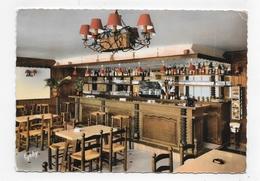 FONTENAI SUR ORNE EN 1965 - N° 4 - HOTEL RESTAURANT LE FAISAN DORE - LE BAR - PETIT PLI ANGLE HT A DR - CPSM GF VOYAGEE - Frankreich