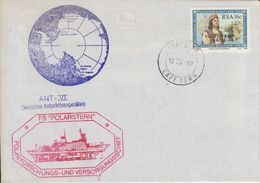 South Africa 1988 Polarstern Ca 18 III 88 Capetown Cover (41548) - Poolshepen & Ijsbrekers