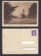 Ansichtskarte Berlin Dahlem Jesus Christus Kirche 1945 - Ansichtskarten