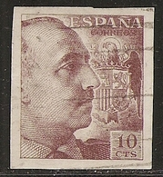 1939-ED. 888 SERIE COMPLETA PRO TUBERCULOSOS. EFIGIE DE FRANCO - USADO- - 1931-Oggi: 2. Rep. - ... Juan Carlos I