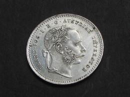 AUTRICHE - AUSTRIA  20 Kreuzer 1868 Vienne / Empereur François-Joseph Ier Tête Laurée   **** EN ACHAT IMMEDIAT **** - Autriche