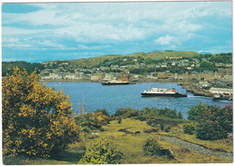 Oban Bay Showing Ferries, Argyllshire - (Scotland) - Argyllshire