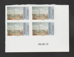 """FRANCE / 2013 / Y&T N° AA 828A ** : """"Impressionnisme/eau"""" (TVP LP Pissaro De Feuille) - Coin Daté 2013 08 09 - Coins Datés"""
