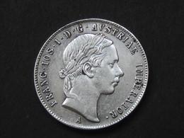 AUTRICHE - AUSTRIA  20 Kreuze 1853 A - Franc.ios.I.D.G.Austriae Imperator    **** EN ACHAT IMMEDIAT **** - Autriche