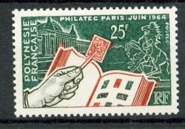 POLYNESIE - 26 - 25 F  Philatec 1964 - Neuf N** - Très Beau - Polynésie Française