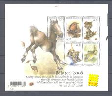BLOK 116 Belgica 2006 POSTFRIS** 2004 - Blocs 1962-....