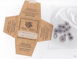 Horlogerie Vintage  Pochette  De 12 Spiraux (ressorts) Ass De Réveils  BE - Bijoux & Horlogerie