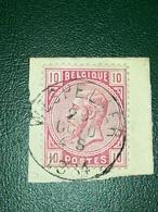 COB N° 38 Oblitération Wespelaer 1884 - 1883 Léopold II