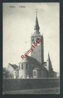 BLATON. (Bernissart) L'Eglise Et Cimetière. Voyagée En 1911. Voir Dos. - Bernissart