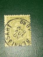 COB N°49 Oblitération Bernissart 1889 - 1884-1891 Léopold II