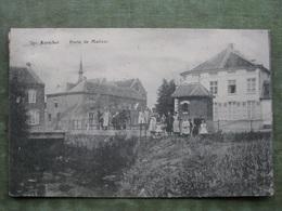 AARSCHOT - PORTE DE MALINES 1918 ( Duitse Censuurstempel - 2 Scans ) - Aarschot