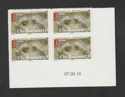 """FRANCE / 2010 / Y&T N° AA 459A ** : """"Art Roman"""" (Île-Bouchard TVP LP De Feuille) - Coin Daté 2010 05 07 - Coins Datés"""