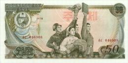 Korea North 50 Won 1978 Pick 21c UNC - Korea, North