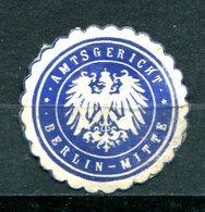 """ALLEMAGNE - Siegelmarke """"AMTSGERICHT - BERLIN-MITTE"""" - Cinderellas"""