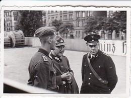 Foto 3 Deutsche Solaten - RAD -  2. WK - 8*5,5cm (38322) - Krieg, Militär