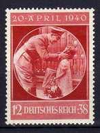 Deutsches Reich, 1940, Mi 744 *, Geburtstag Von Hitler [251218StkKV] - Alemania
