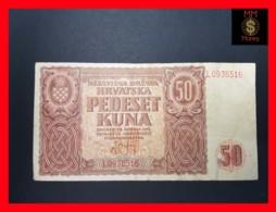 CROATIA 50 Kuna 26.5.1941  P. 1   VF - Croatia