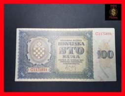 CROATIA 100 Kuna 26.5.1941  P. 2  VF - Croatia