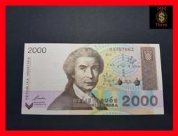 CROATIA 2.000 Dinara 15.1.1992  P. 23  UNC - Croatia