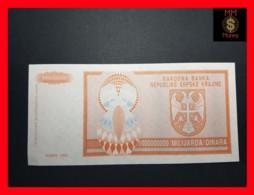 CROATIA 1.000.000.000 Dinara 1993 P.  R 17  UNC  No Serial - Croatie