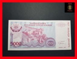 CROATIA 5.000 Dinara 1993 P.  R 20  UNC - Croatie