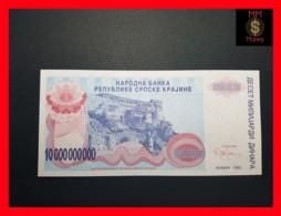 CROATIA 10.000.000.000 Dinara 1993 P.  R 28  UNC No Serial - Croatia