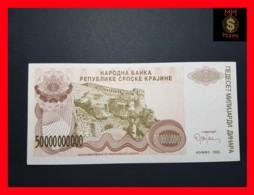 CROATIA 50.000.000.000 Dinara 1993 P.  R 29 UNC No Serial - Croatie