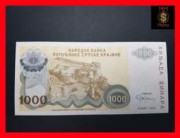 CROATIA 1.000  1000 Dinara 1994  P. R 30  UNC No Serial - Croatia