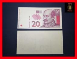 CROATIA 20 Kuna 31.10.1993  P. 30  UNC Proof  Printing - Croatie