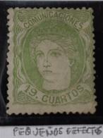España N114 (pequeños Defectos - 1868-70 Gobierno Provisional