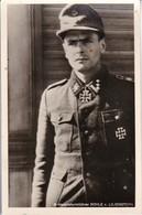 AK SS-Hauptsturmführer Rühle V. Lilienstern - Rs. Vignette Feldpost LGPA Königesberg 1 RM Spende Rotes Kreuz RAR (38326) - Weltkrieg 1939-45