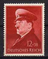 Deutsches Reich, 1941, Mi 772 Y **, Geburtstag Von Hitler, [251218StkKV] - Alemania