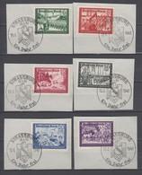 Deutsches Reich , Nr.773/ 78 Mit Elsass Sonderstempeln ( 32.- ) - Deutschland