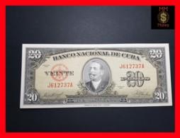 CUBA 20 Pesos 1958  P. 80  UNC - Cuba