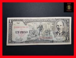 CUBA 1 Peso 1959 P. 90  VF - Kuba