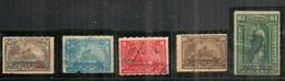Year 1898 DOCUMENTARY Battleship Stamps. 1/2c - 1c - 2c- 10c + $ 1.00 . Oblitérés Bonne Qualité. Bonnes Valeurs - Fiscaux