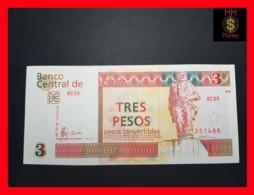 """CUBA 3 Pesos Convertibles 2007  P. FX 47  """"CHE"""" UNC - Cuba"""
