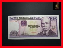 CUBA 50 Pesos 2002  P. 123  UNC - Cuba