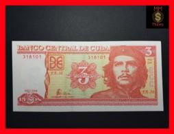 """CUBA 3 Pesos 2004  P. 127   UNC """"CHE"""" - Cuba"""