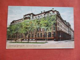 The United States Hotel    New York > Saratoga Springs   Ref 3109 - Saratoga Springs