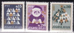 Yugoslavia 1966 New Year, MNH (**) Michel 1188-1190 - Neufs