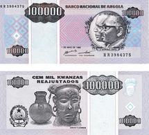Angola 100000 Kwanzas - Angola